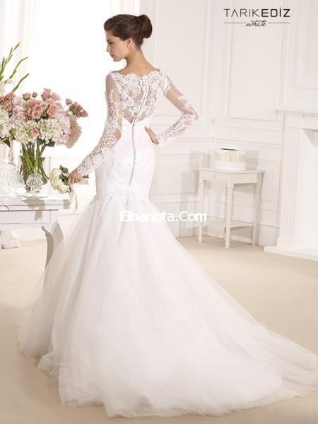 cdec24d1eeac9 عالم الزين  فساتين زفاف بيضاء دانتيل 2017-2018