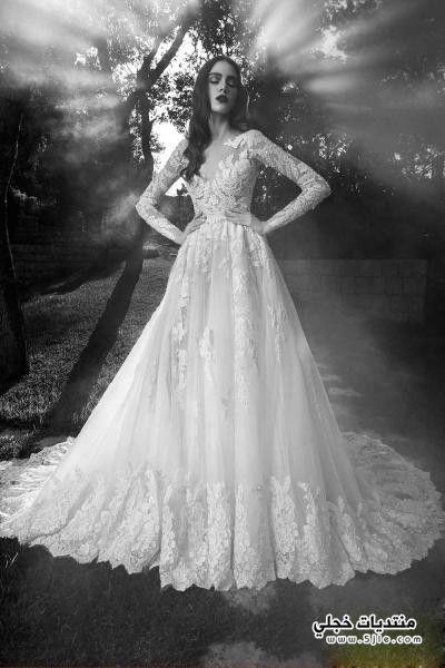 موديلات مختلفه فساتين العروسه